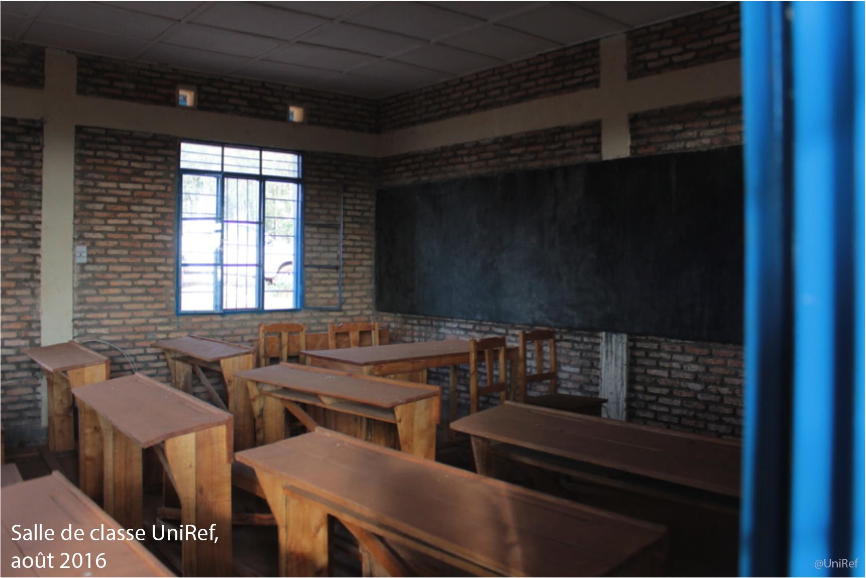 Salle de classe UniRef, Aout 2016